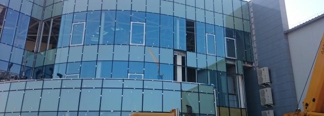 Aluminium – glass facades